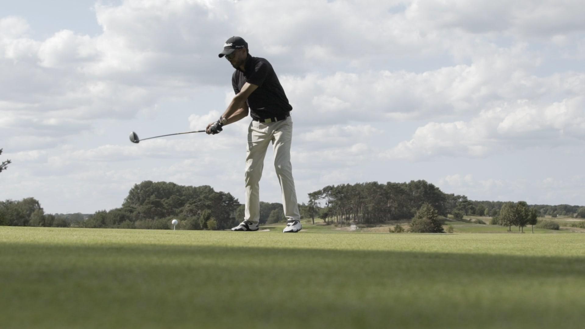 Videographie eines Golfers