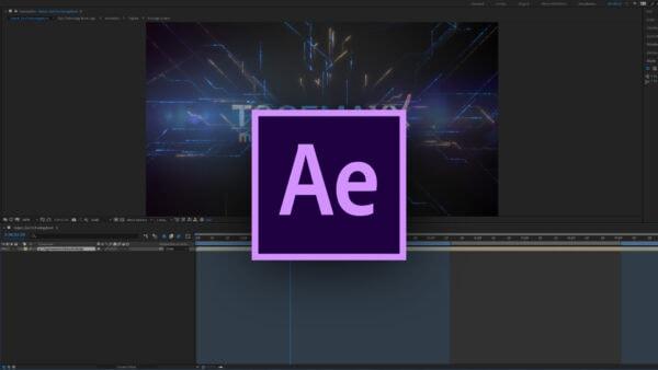 Adobe After Effects für eine Logo Animation für eine Imagefilm